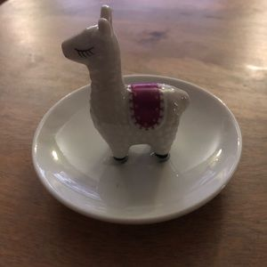 Other - Lama Jewelry Ring Trinket Dish 💕3 for $20💕